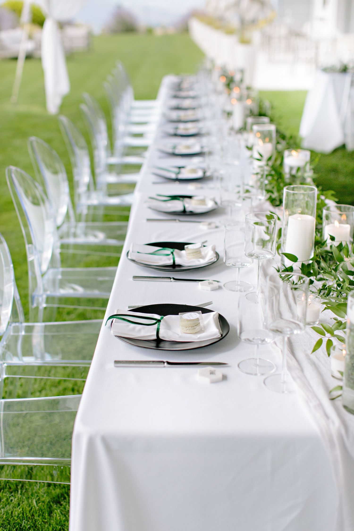 headtable place setting