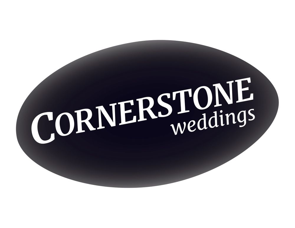 Cornerstone weddings logo