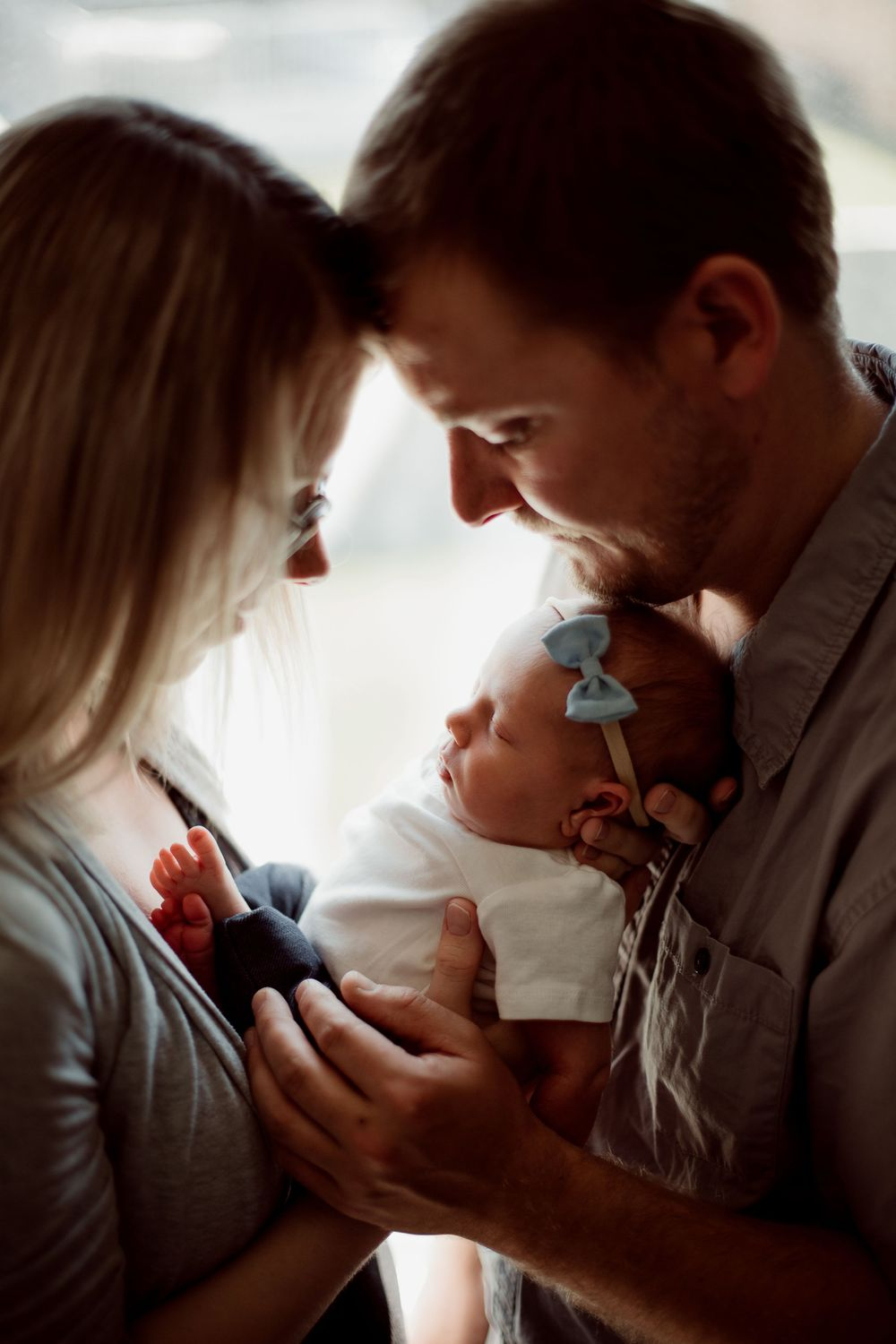 Calgary Lifestyle Newborn Photography