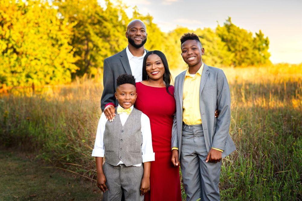 Family portaits by Alicia Wilson Photography in Rockwall, Texas