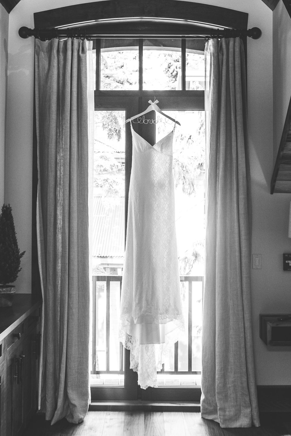 Wedding Dress Photography Revelstoke, BC