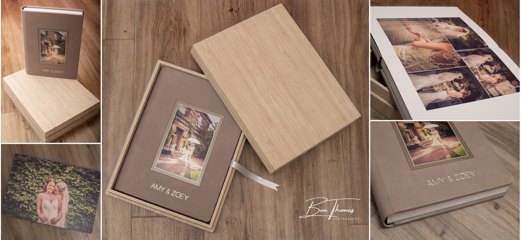 Luxury Italian wedding album package Newcastle