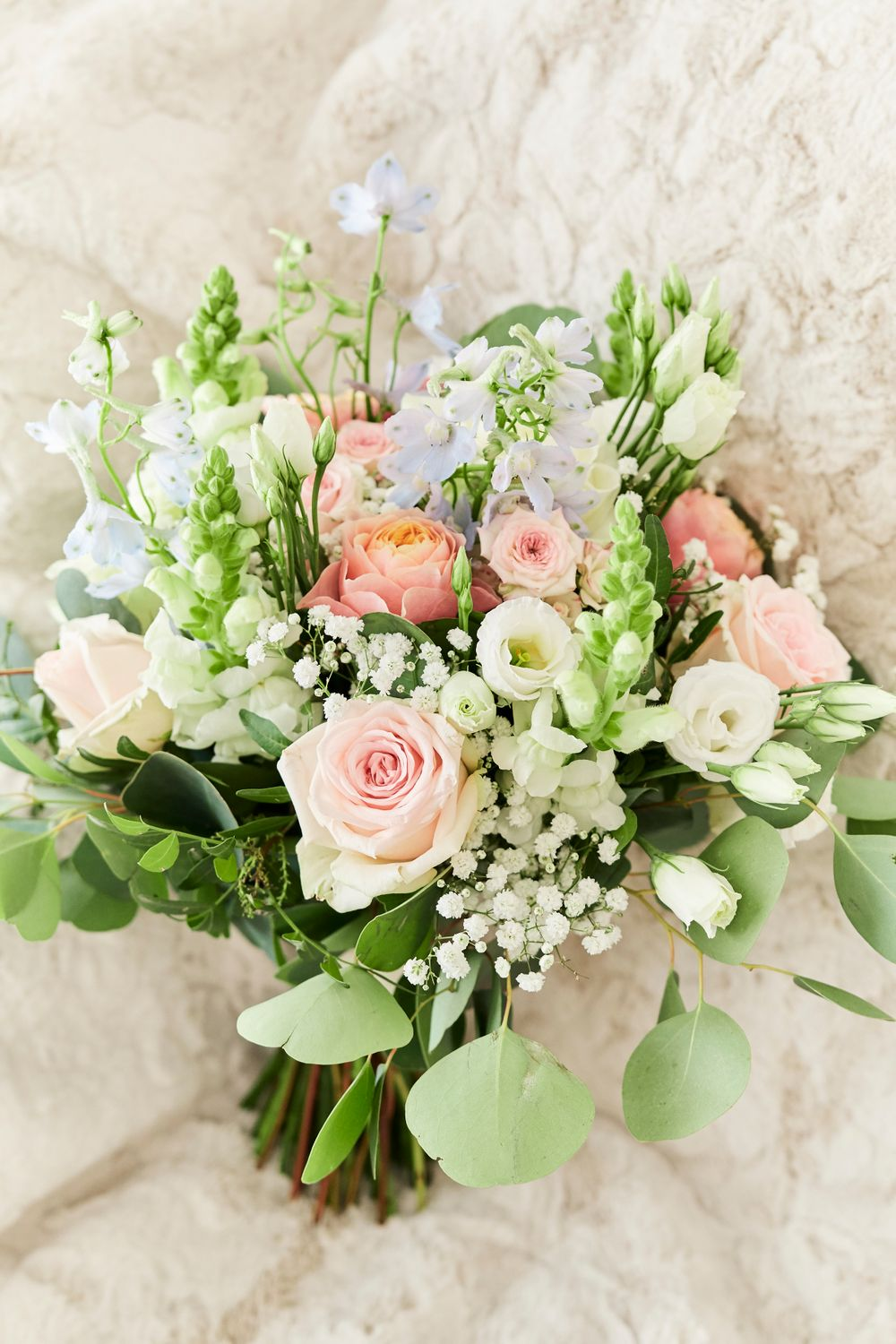 bridal bouquet at Old Buckingham, Norfolk. By Norfolk Wedding photographer Faye Amare