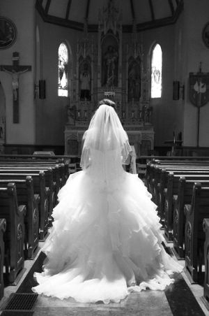 Bride in Church