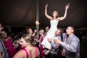 Bride Partying