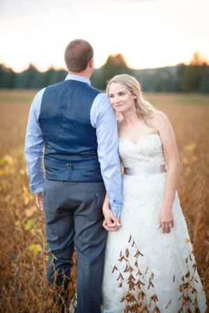 Dreamy Field wedding
