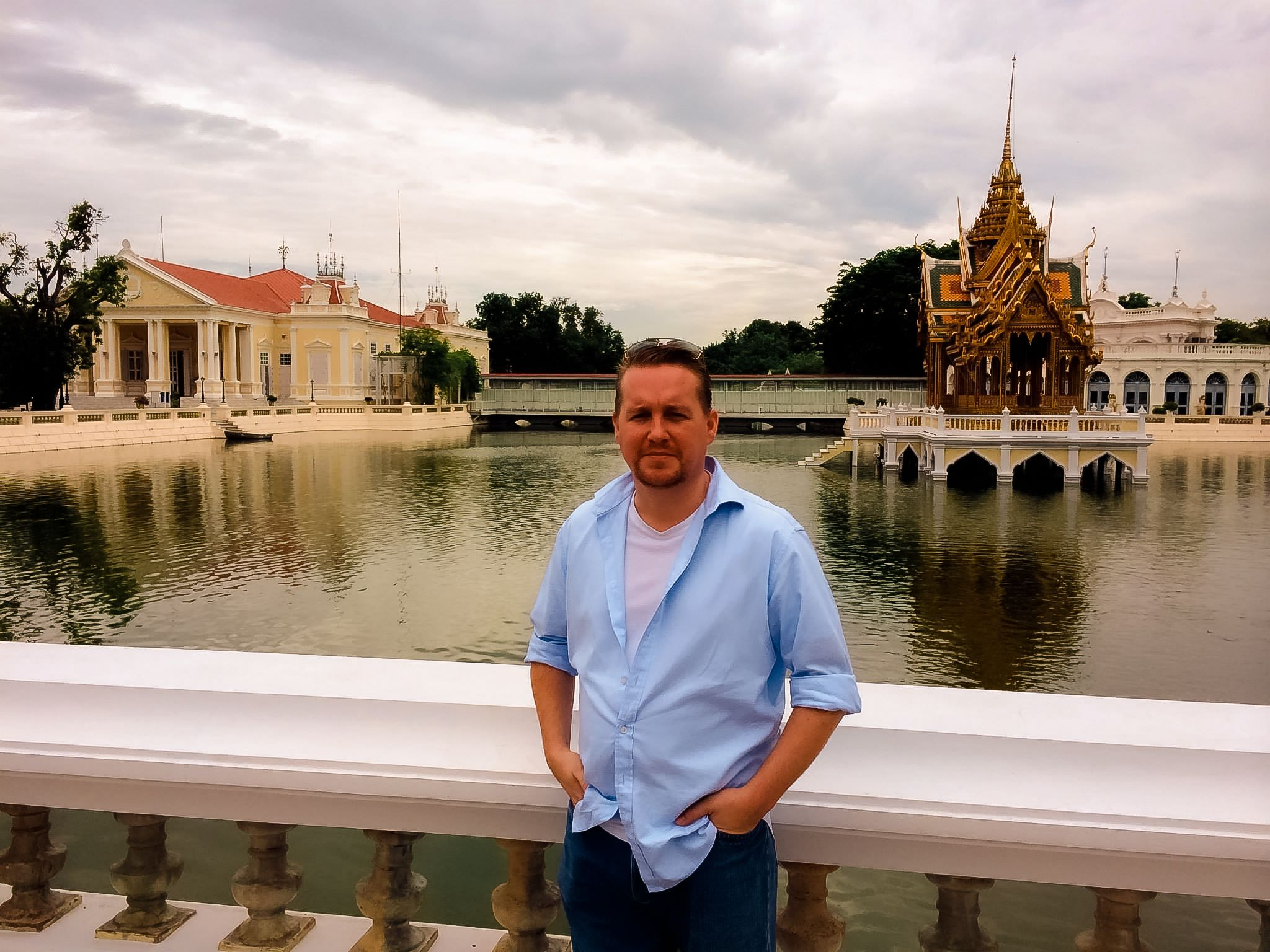 Photography Liverpool owner Matthew Fitzpatrick in Thailand