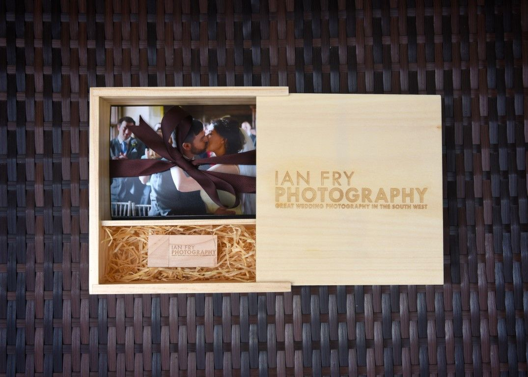 Wooden Presentation Box and USB
