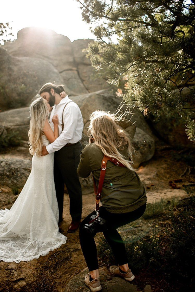 Natalie Dyer Photography during a styled shoot in Red Feather Lakes, Colorado.