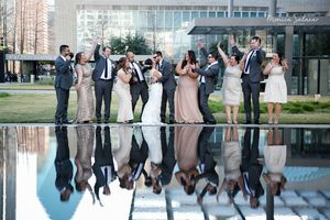 Dallas Wedding Photographers | Wedding Party Group Photos | Winspear Opera House | Monica Salazar Photography