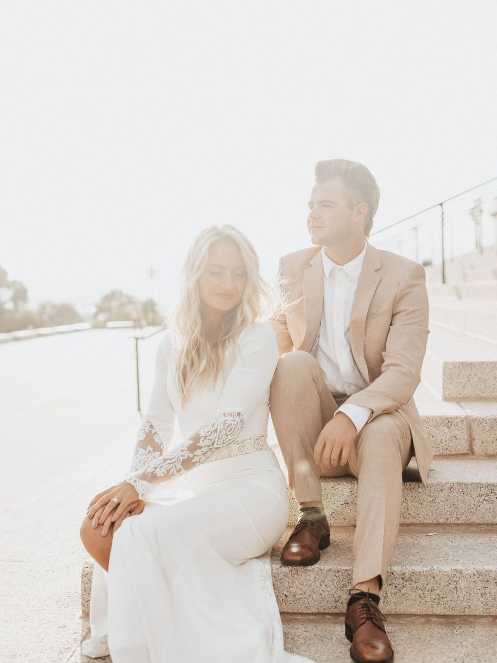utah capitol sunset elopement wedding dress bridal session utah elopement photographer utah wedding photographer
