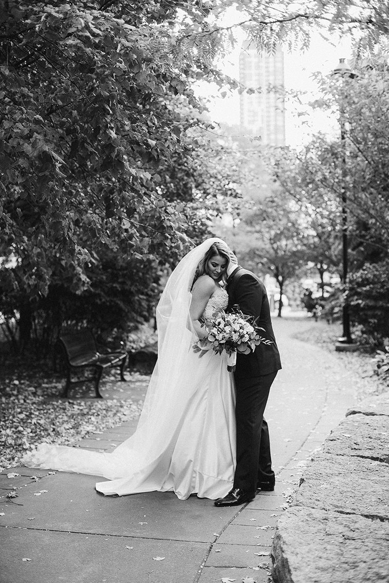 Intimate Toronto wedding