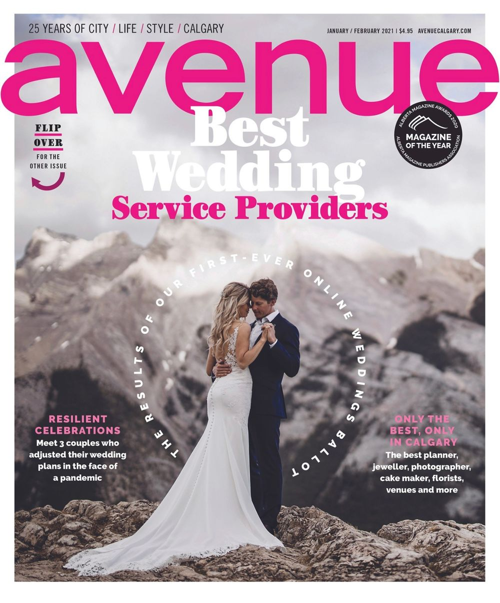 Avenue Magazine Best Wedding Photographer