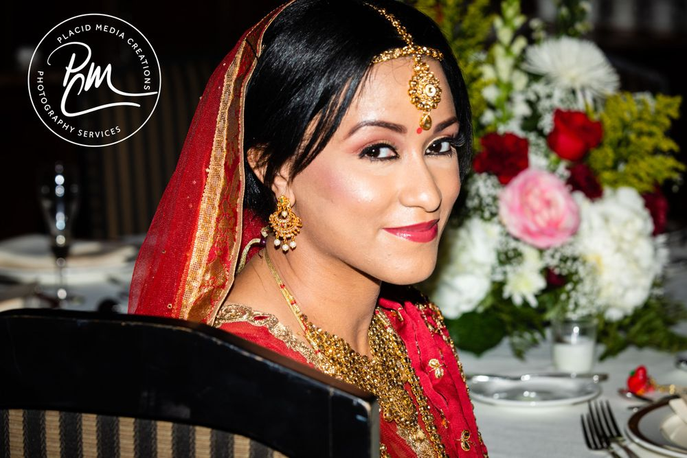 A lehenga is traditional Indian attire worn for wedding celebrations