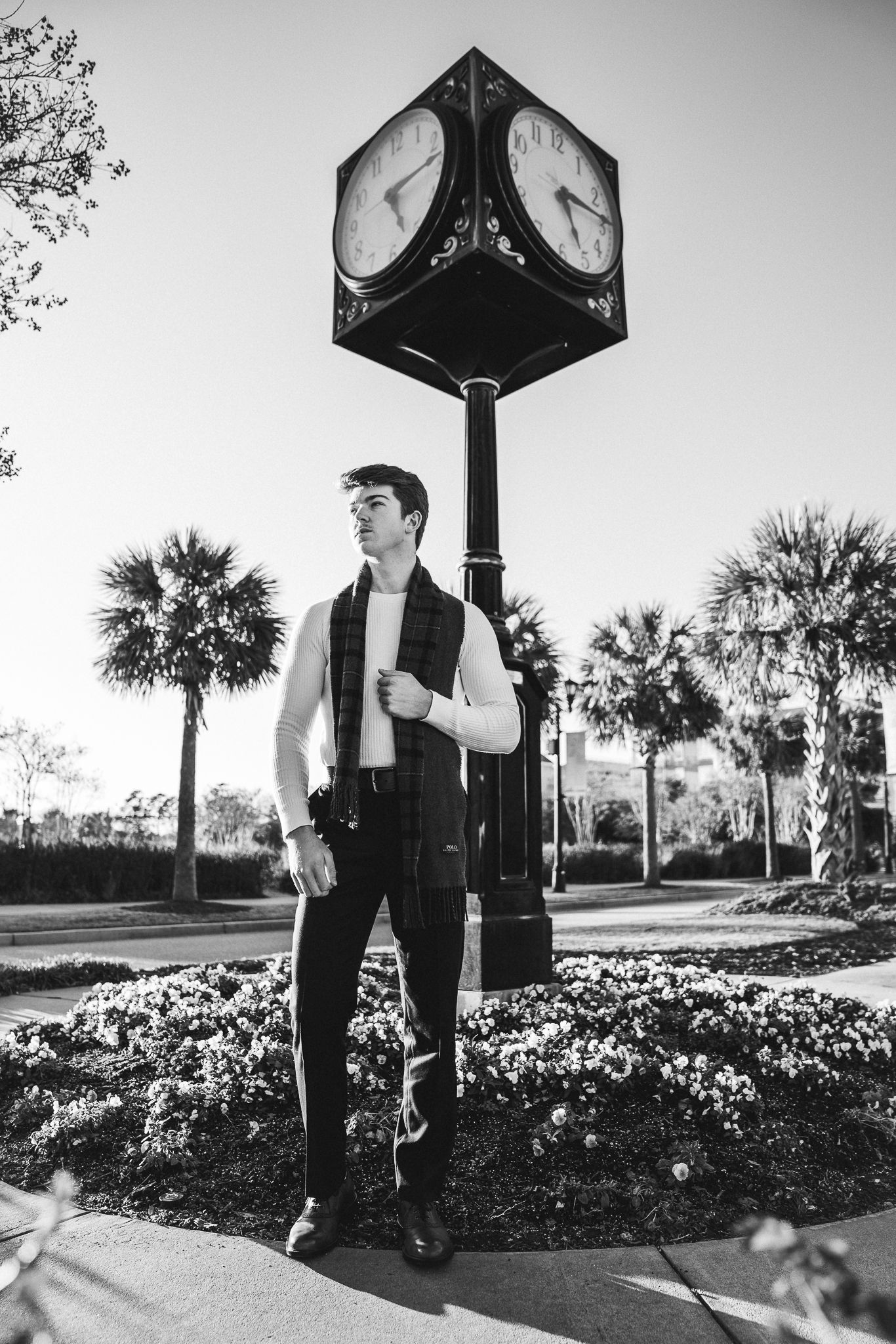 Young male model at market common, Myrtle Beach SC, by PHV Photo