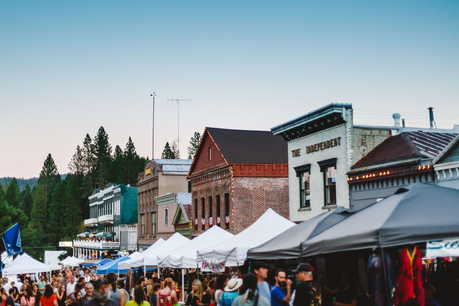 Nevada city summer nights