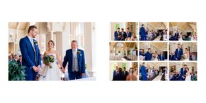 ceremony moments wedding photo book sample