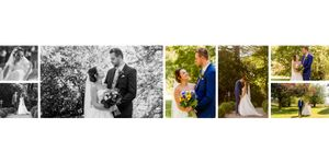 couple pictures wedding photo book sample