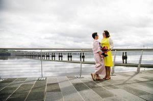 Same sex wedding photography dundee the quay apex hotel