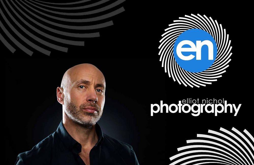 North East professional photographer profile photo and logo