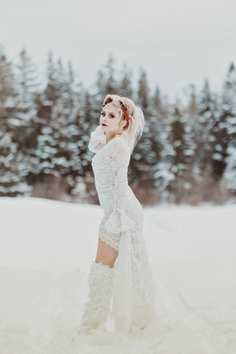 Kawartha Lakes Styled Shoot Model Valentines Day