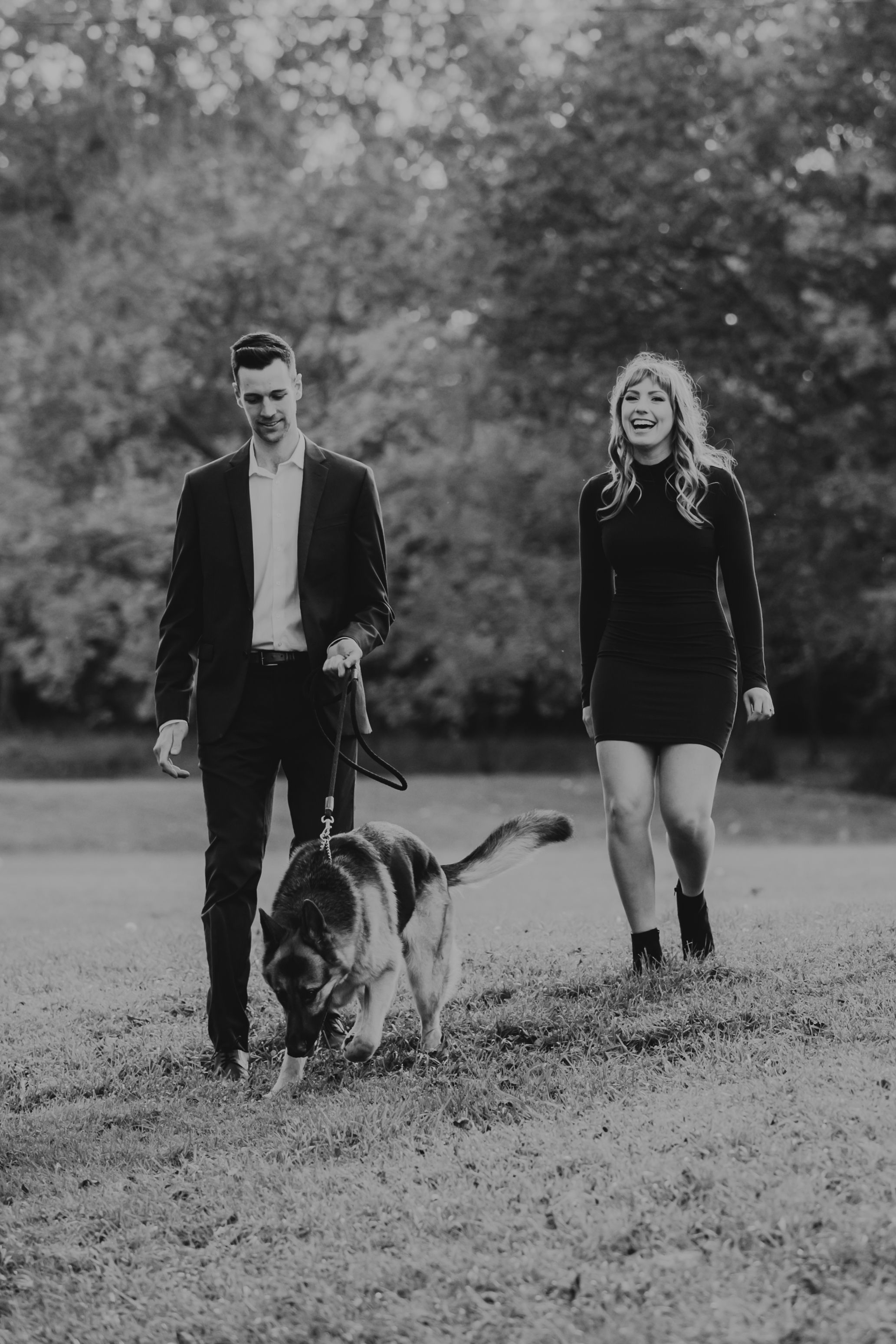 Fall engagement photos at Fanshawe Conservation Area London Ontario by photographer Shawn Van Daele
