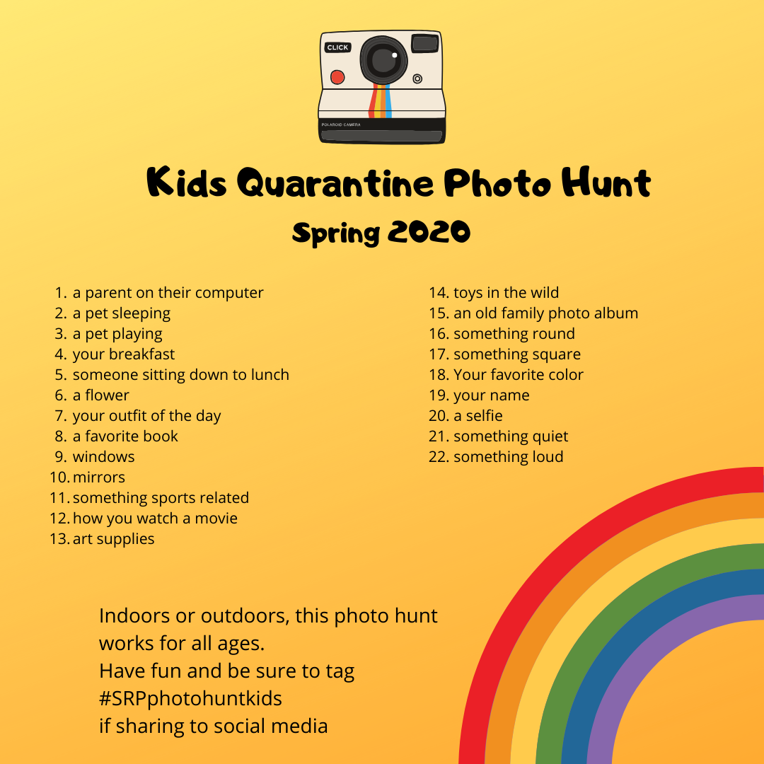 Quarantine Kids Photo Hunt