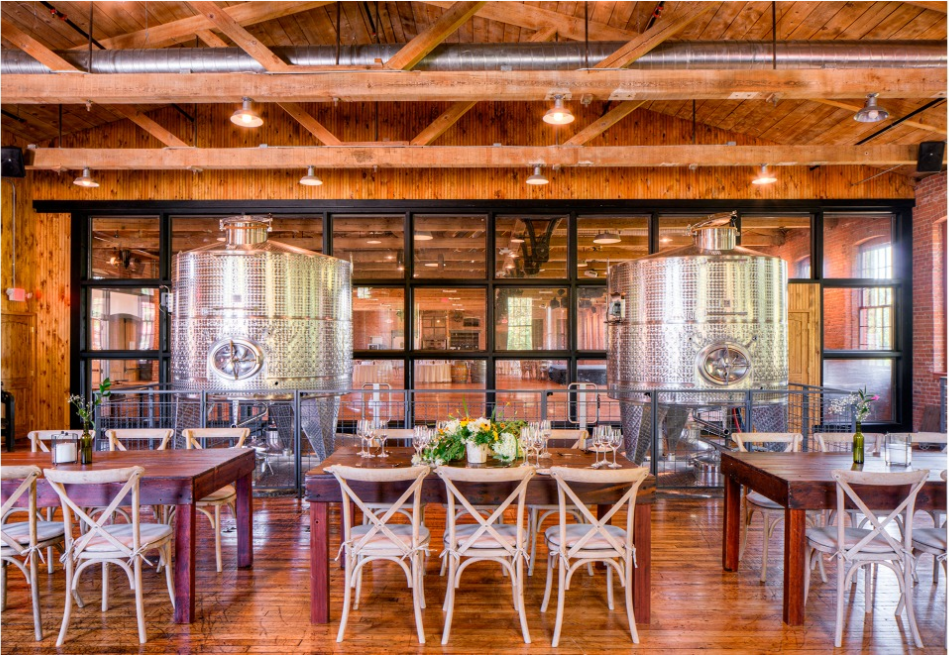 City Winery Hudson Valley small wedding venue