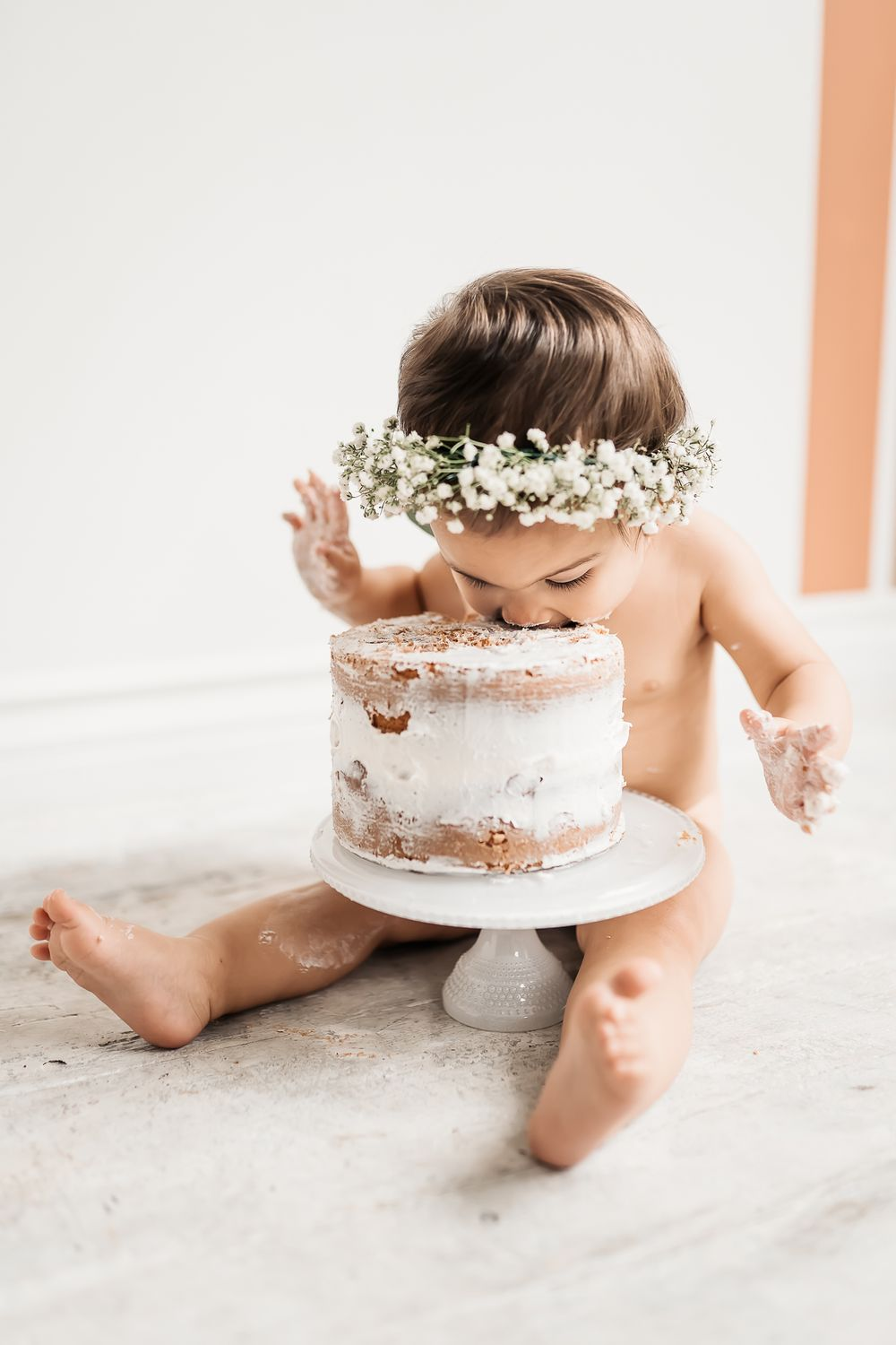 San Diego Photography Cake Smash First Birthday