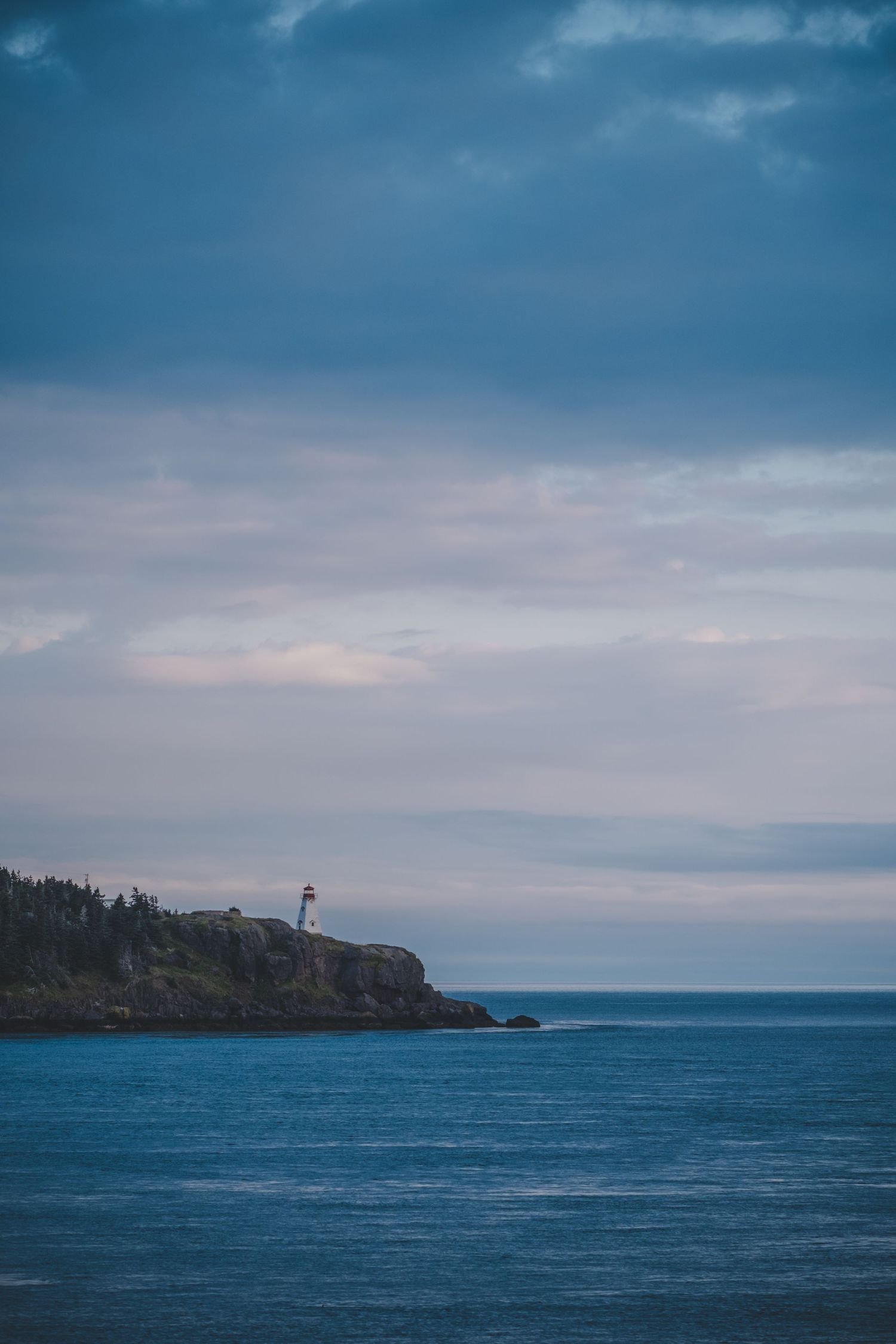 lighthouse at sunrise digby neck