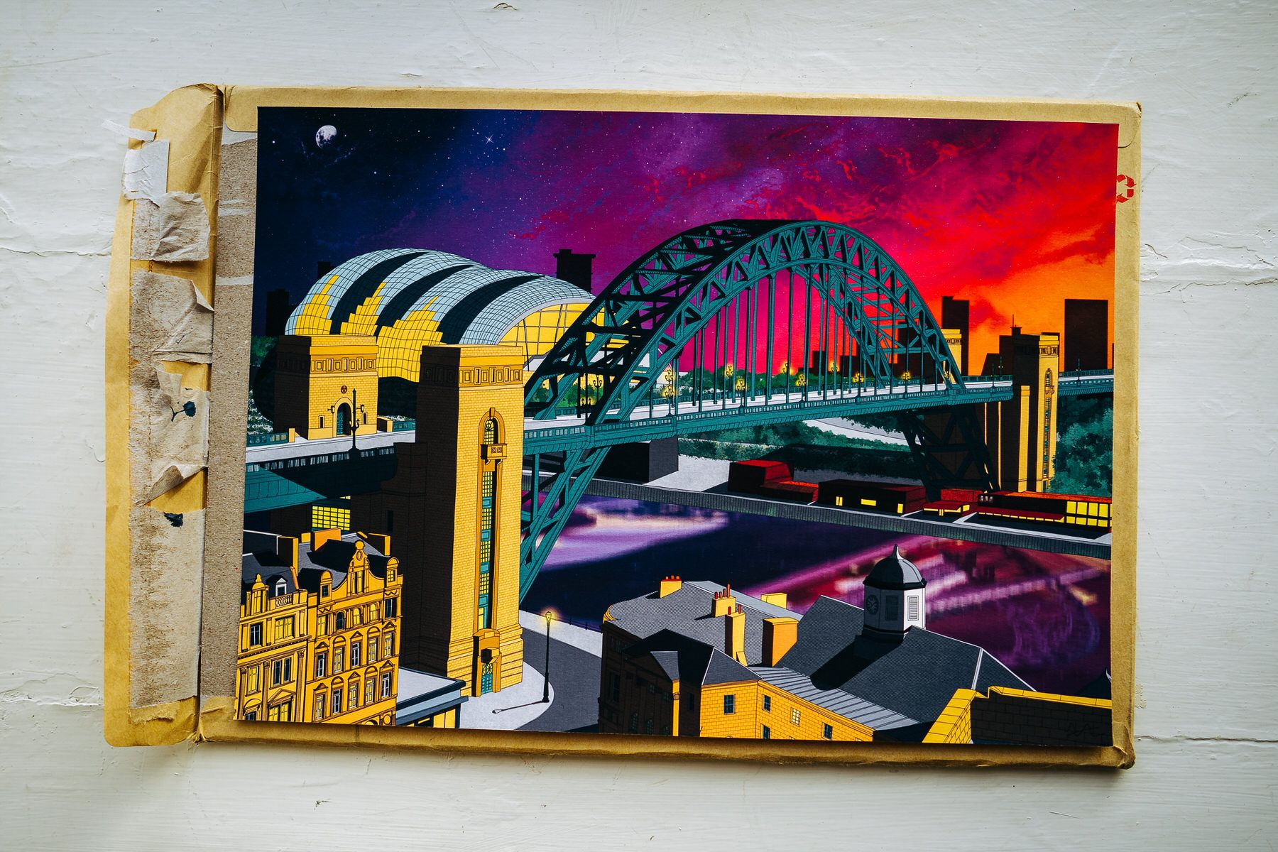 Yvette Earl illustration wedding gift of newcastle