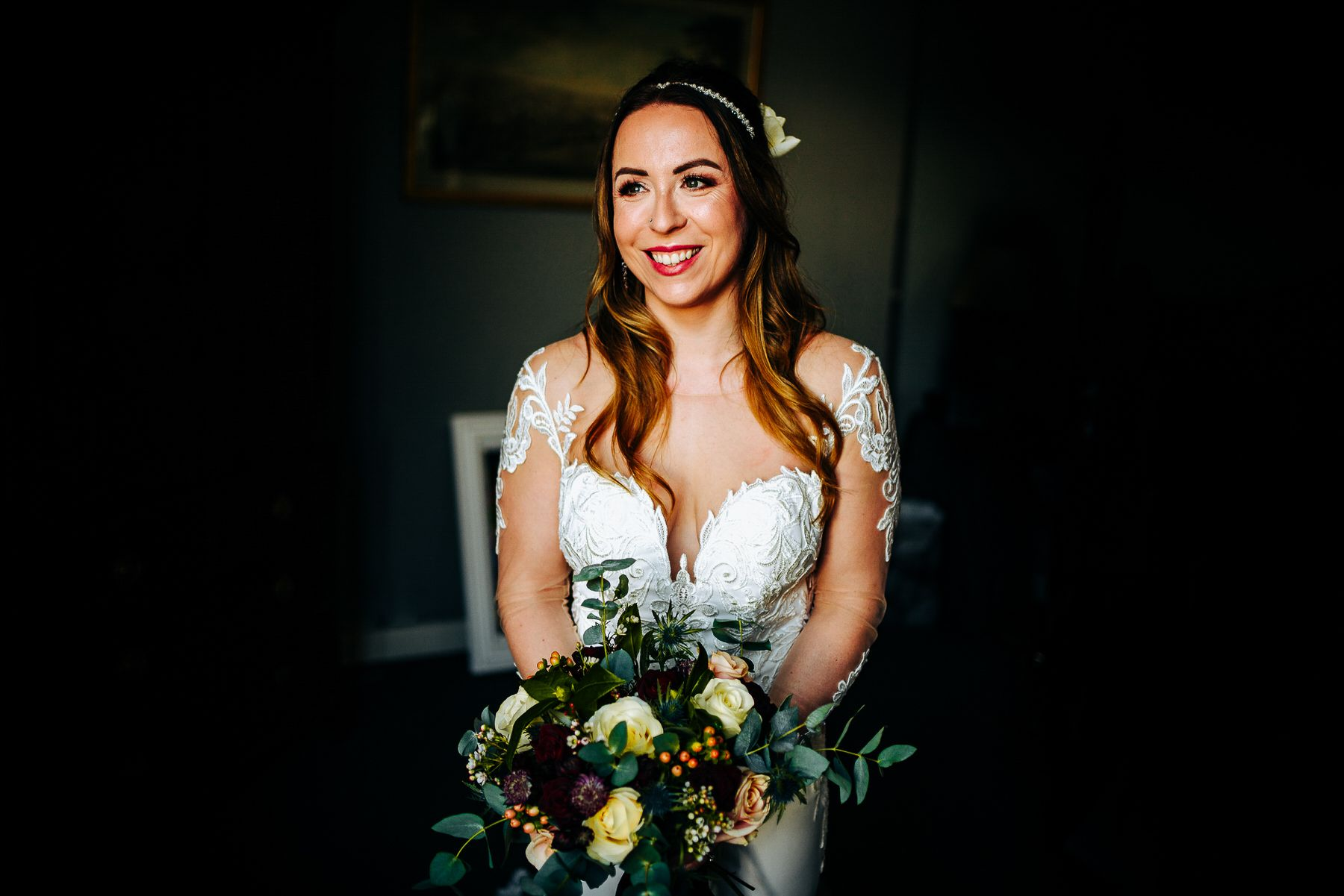 Askham Hall Bridal Portrait