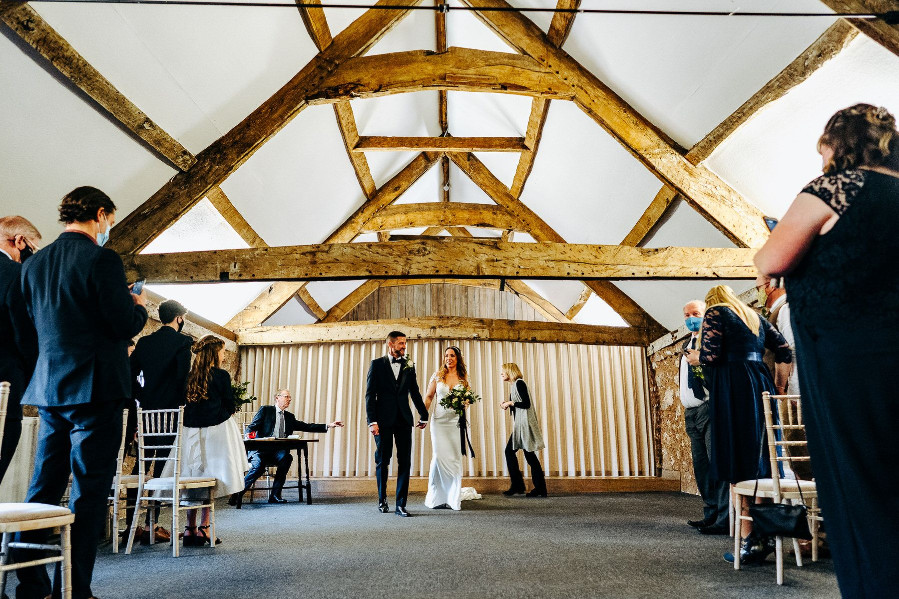 Barn Wedding in Lake District