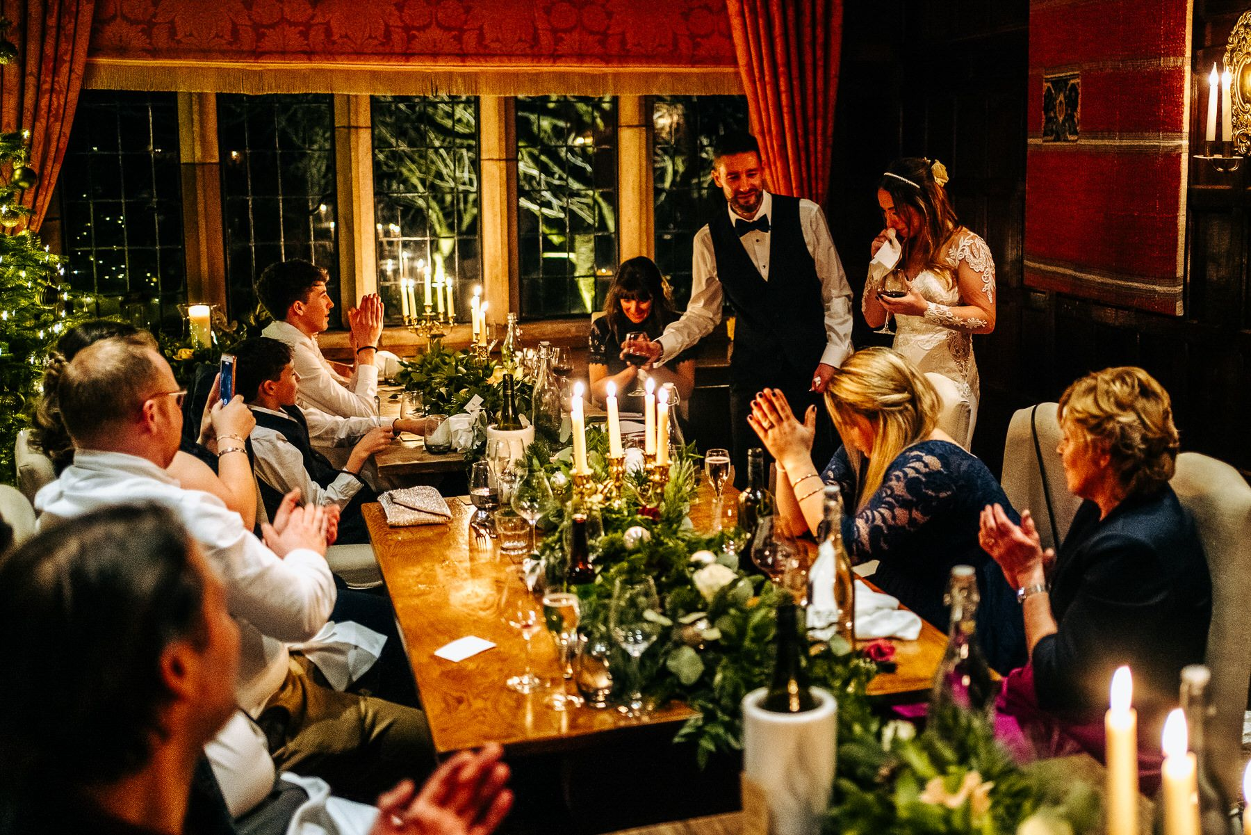 Wedding Speeches at Askham Hall