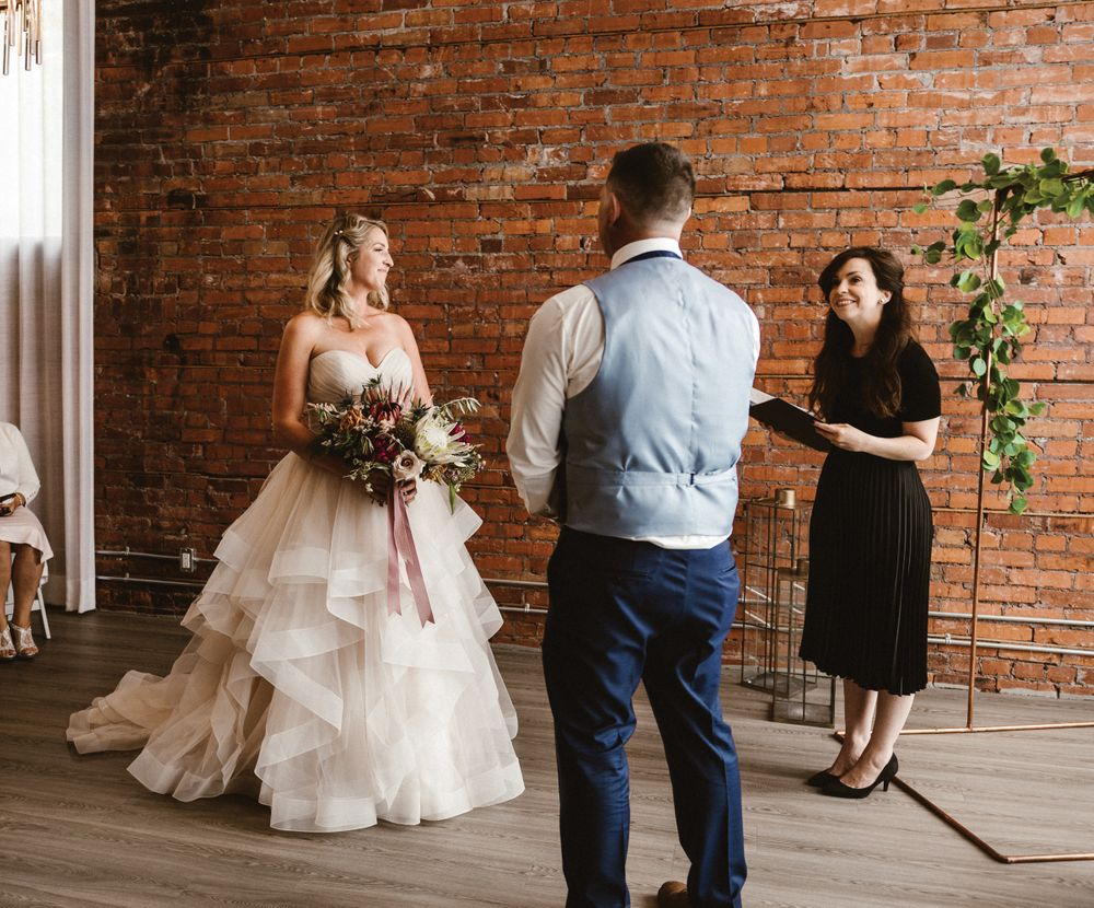 Wedding at Venue 308 with Urban Officiant