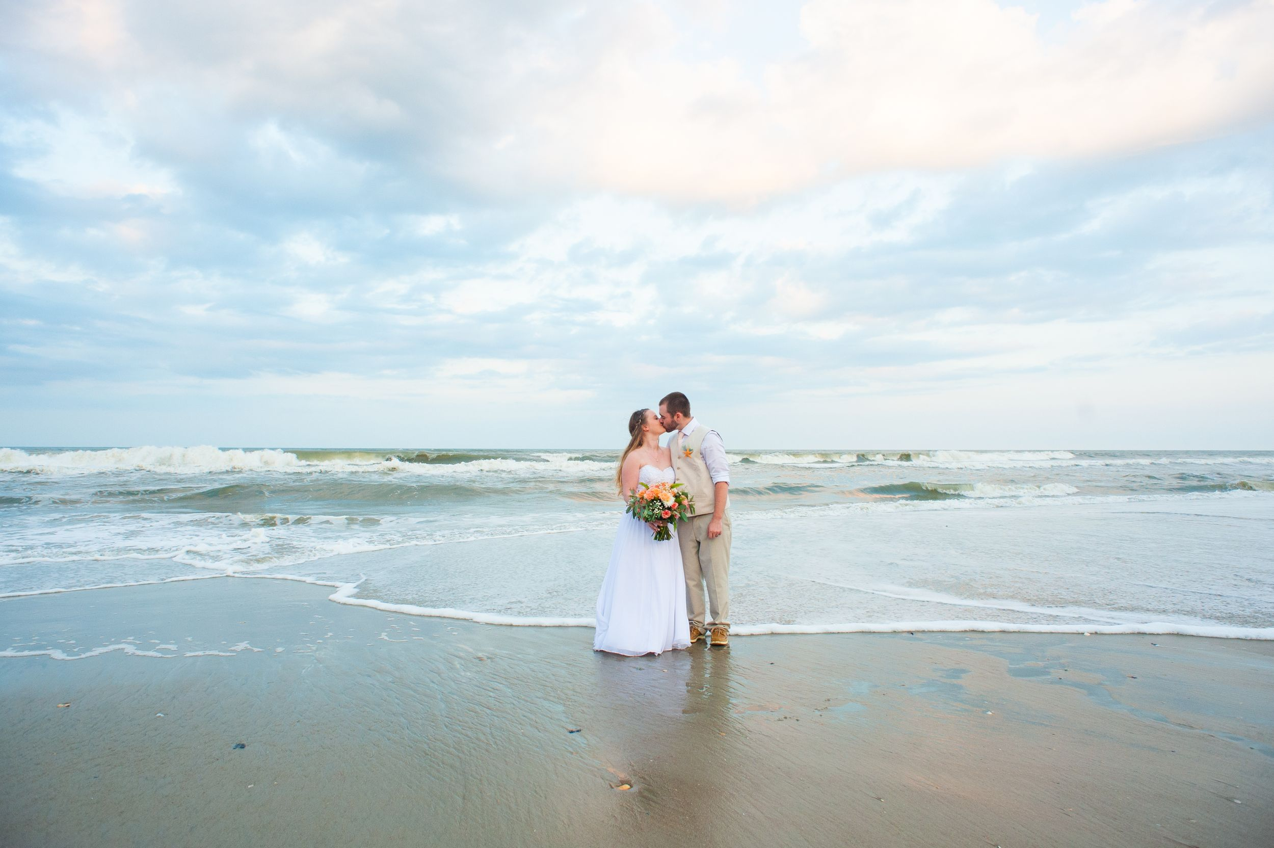 Outer Banks Wedding, Beach wedding