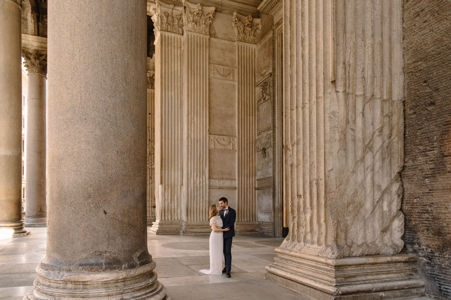 Elopement & Wedding Photo in Rome