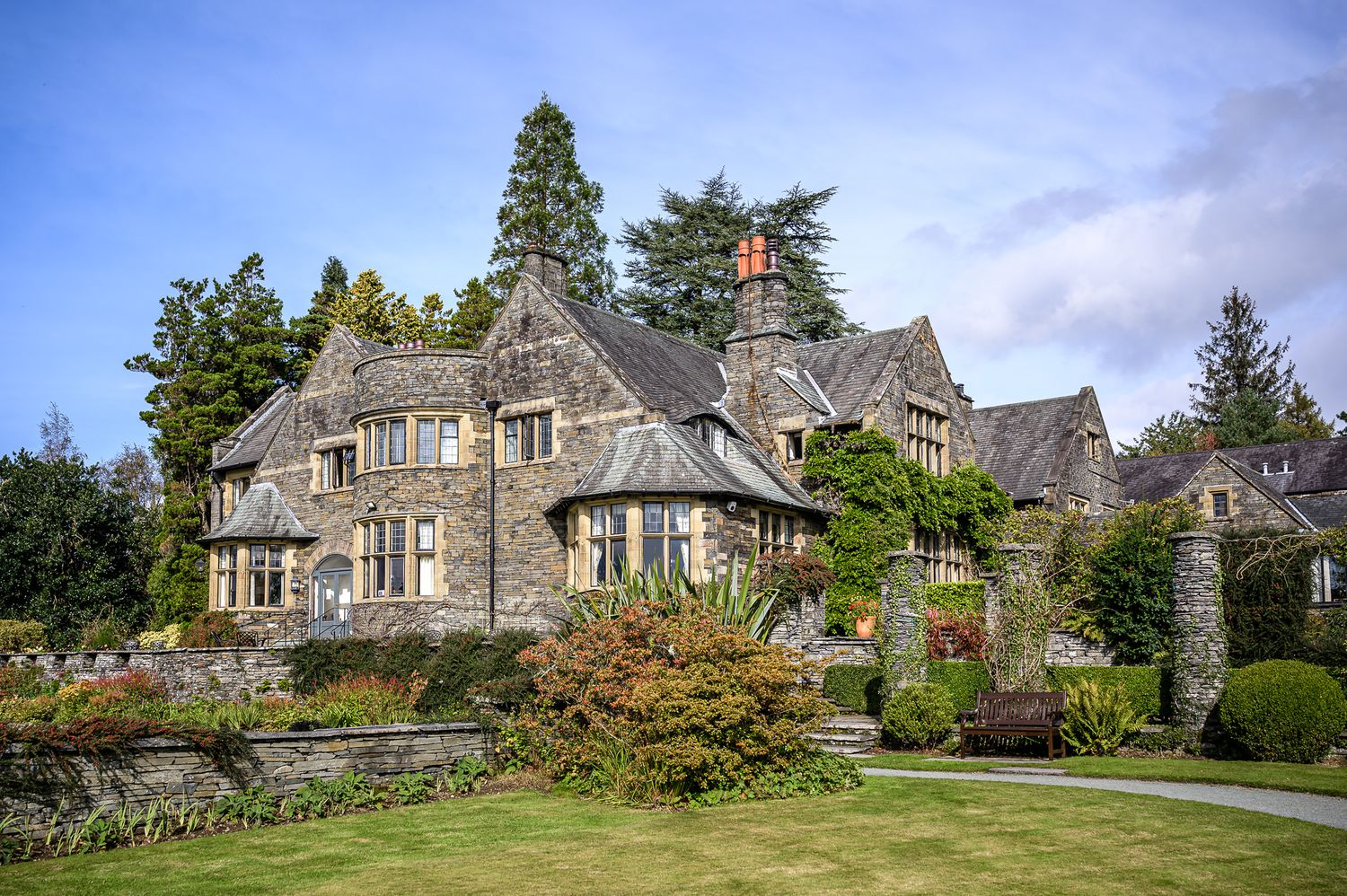 Cragwood Country House Hotel between Ambleside and Windermere in the Lake District