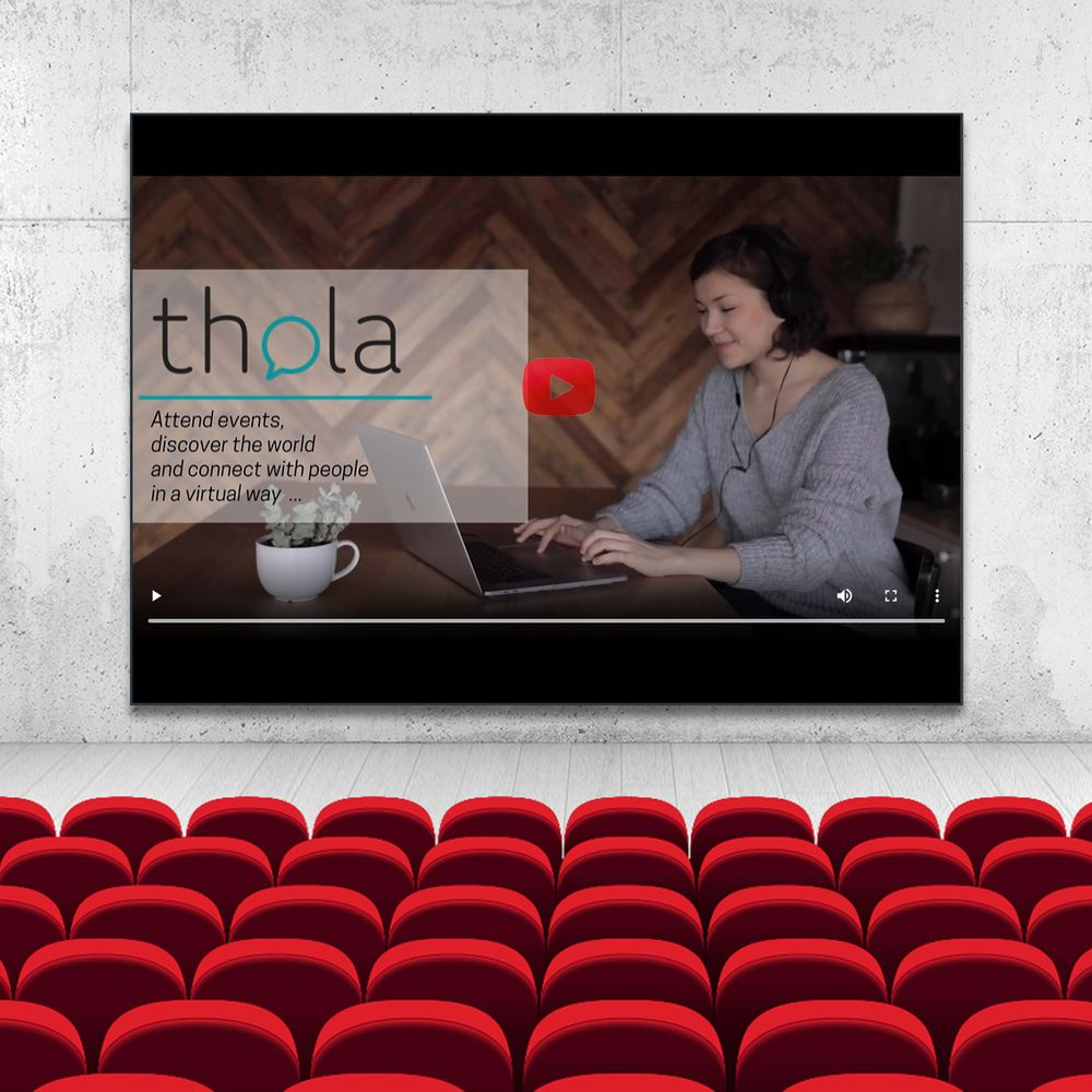 Thola's virtual auditorium is a great feature to join or host live sessions at your virtual events.