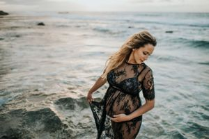 North Shore Photographer - Hawaii Babymoon - Oahu Maternity Photographer - Patricia Allison Photography