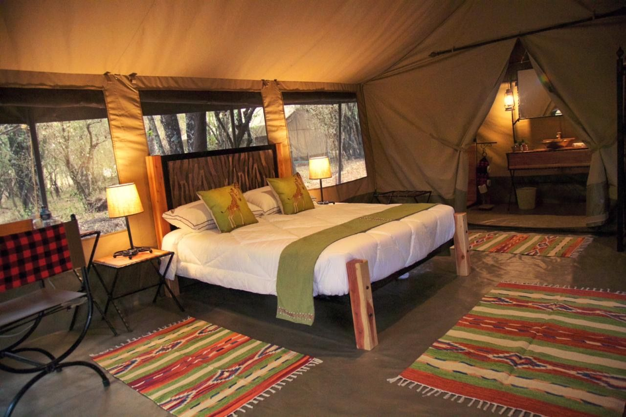 A typical tent at Mara Olapa which is where we base our photosafaris from