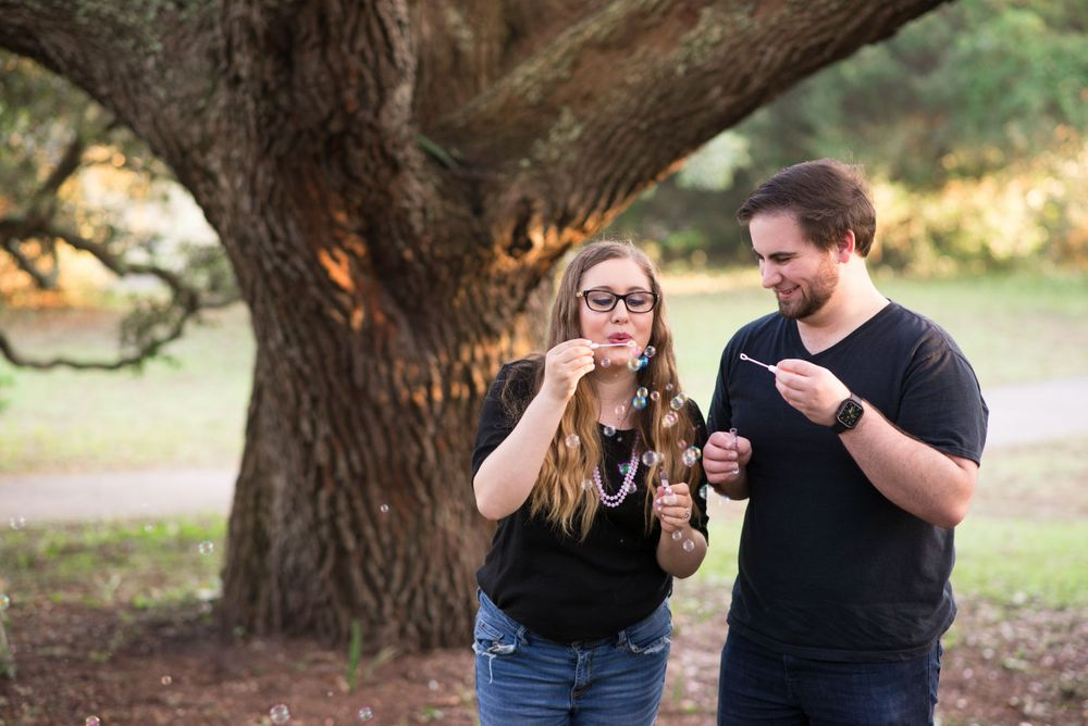 Myrtle Beach State Park Engagement Photography by Alicia Marie