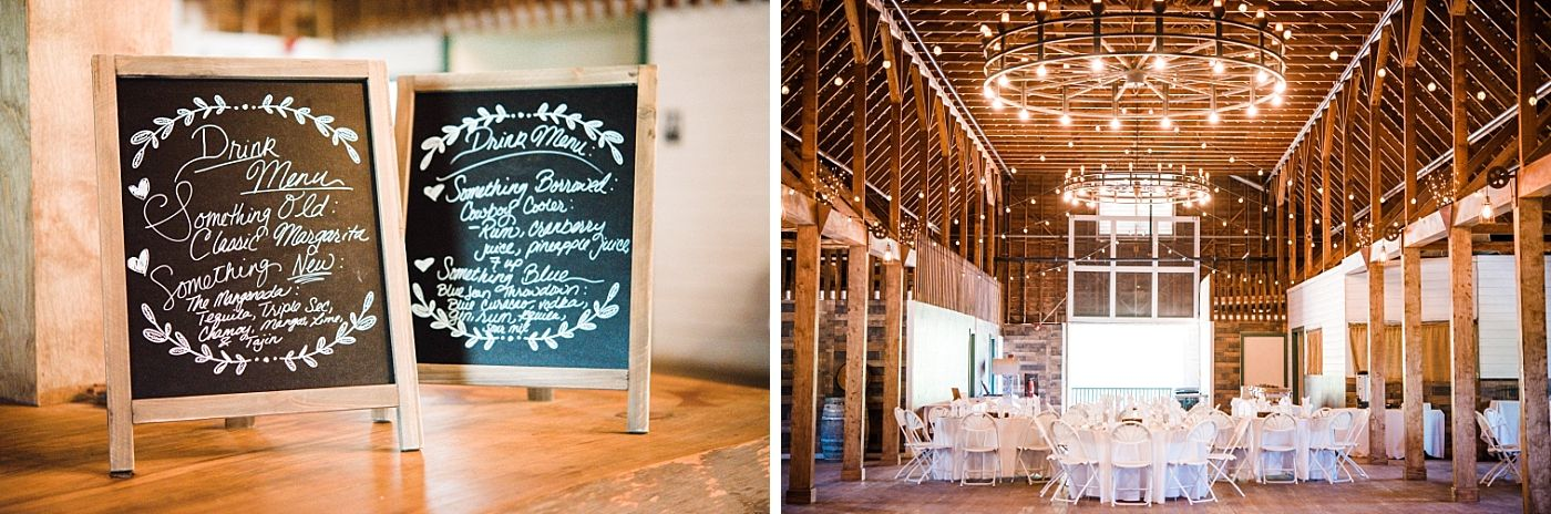 Springville Central Valley california barn wedding reception