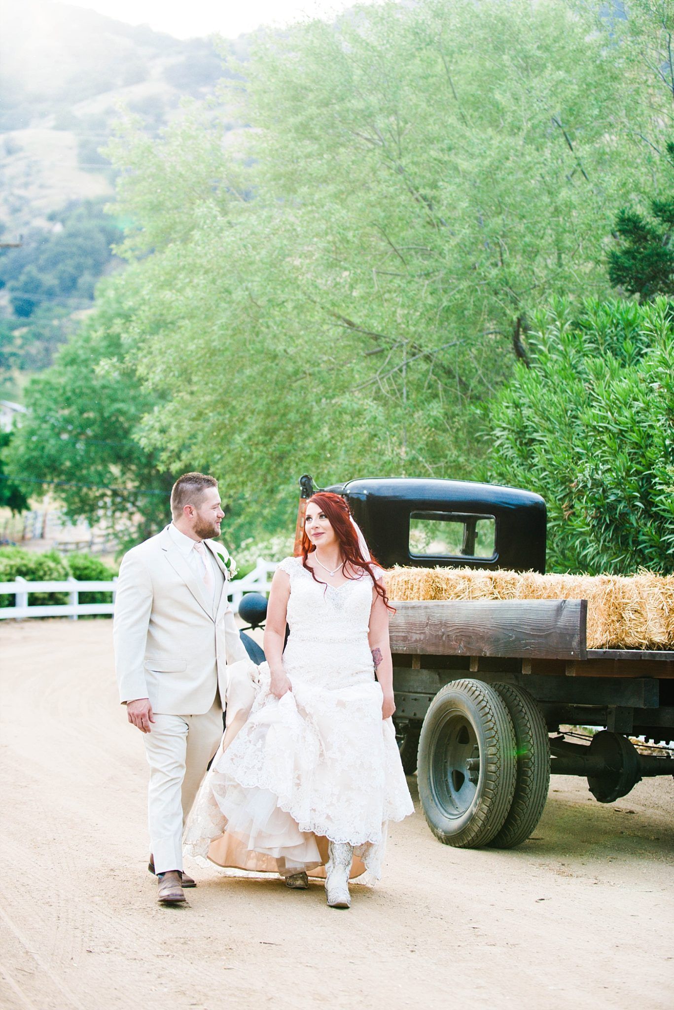 Springville Central Valley california barn wedding