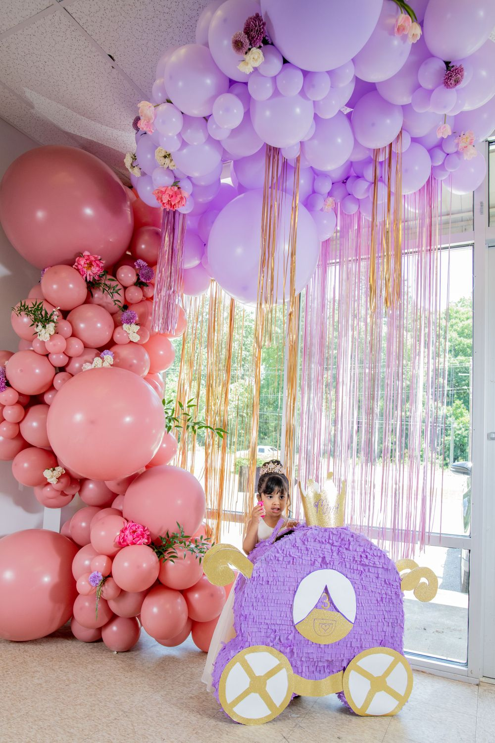 Moms Kloset Balloons - Princess Theme