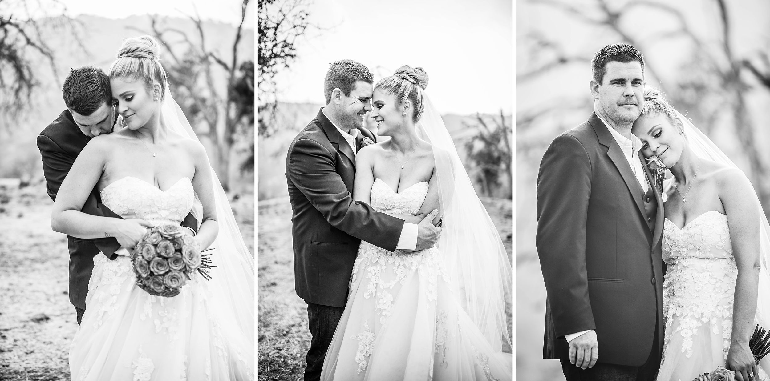 outdoor wedding in three rivers california riata ranch bride and groom