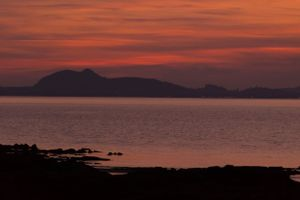 East Lothian sunset