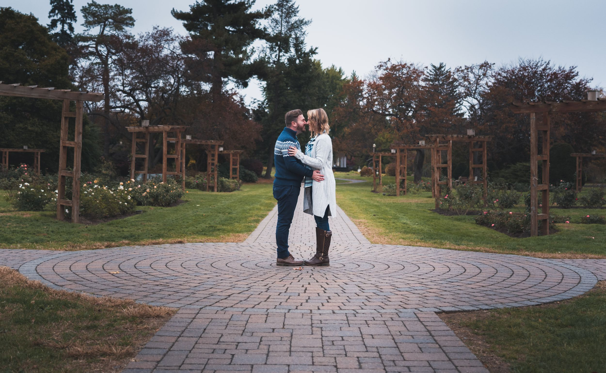 Preston Christman Photography Steel Stacks Rose Gardens Skate a Way Engagement Lehigh Valley Wedding Photographer