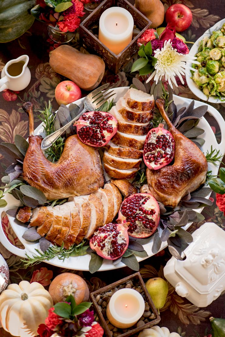 Thanksgiving Turkey Food Photography by Charity Beth Long