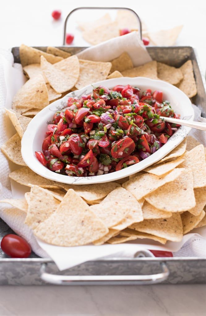 Salsa and Chips Food Photography by Charity Beth Long